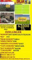 ANTALYA KONYAALTI ÜÇOLUKTA SATILIK 355 M2 TARLA