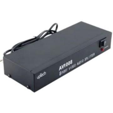 Audio Video RCA Dağıtıcı 8 Port, 191,82 ₺