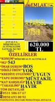 ANTALYA DÖŞEMEALTI ALTINKALEDE SATILIK 543 M2 ARSA