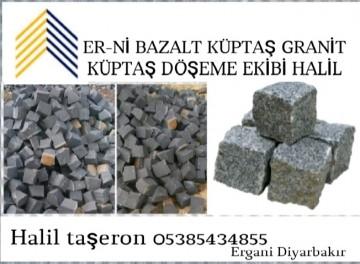Er-ni Granit küptaş bazalt küptaş uygulama ekibi H