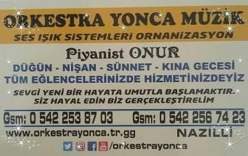 NAZİLLİ MERKEZDE ORKESTRALAR NAZİLLİ ÇEVRESİNDE OR, 500,00 ₺, Başlayan Fiyat, Türkiye, Aydın, Nazilli